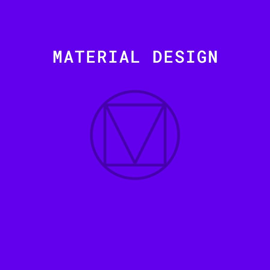 Material Design Components WordPress Starter Theme