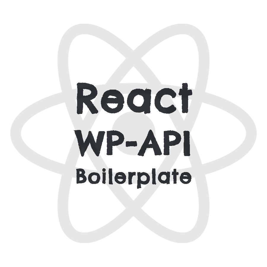 WP-API ReactJS Boilerplate